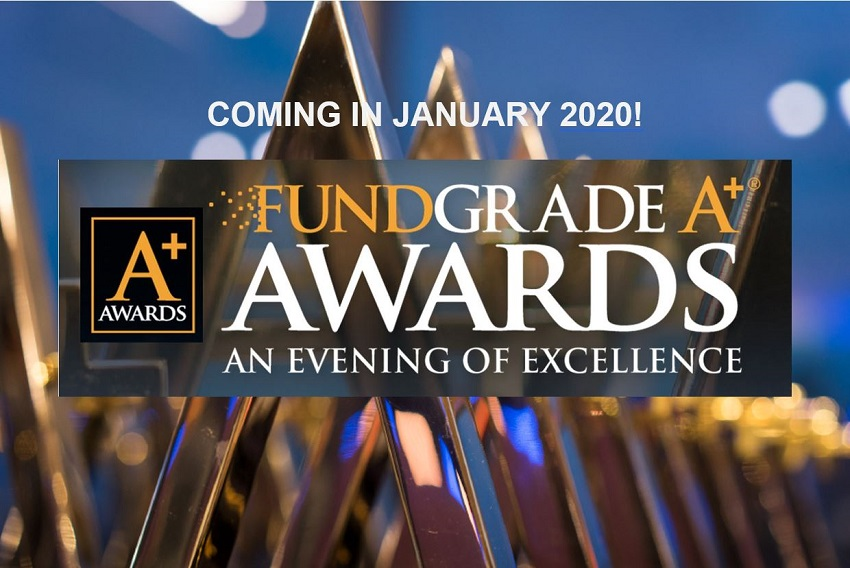 First-time FundGrade A+® Award contenders for 2019