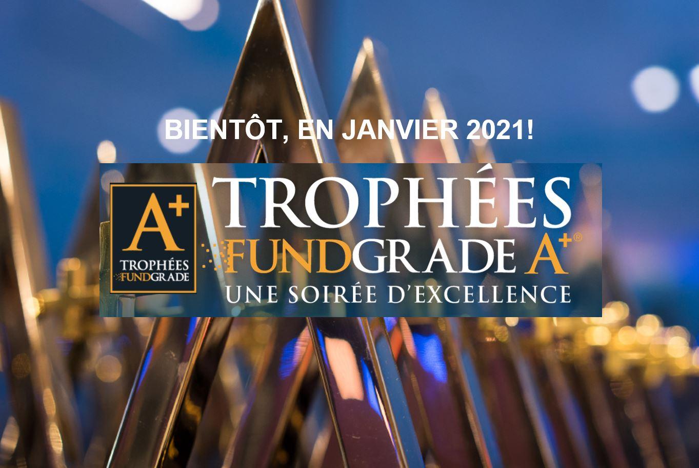 Les FNB candidats au Trophée FundGrade A+® pour l'année 2020