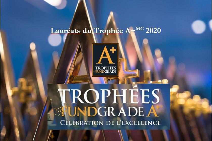 Résilience en 2020 : Les lauréats des Trophées FundGrade A+®