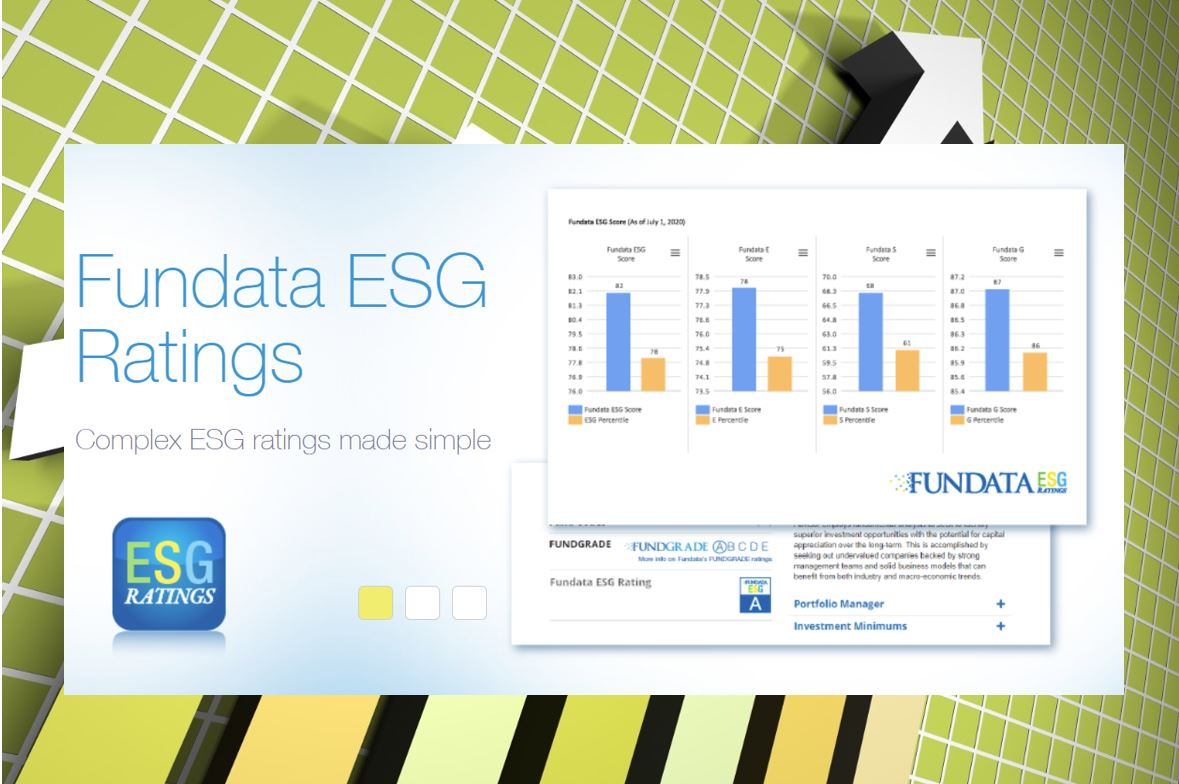 New Fundata ESG Ratings can help build RI portfolios