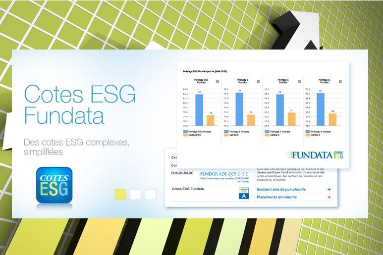 Les nouvelles Cotes ESG Fundata peuvent vous aider à construire un portefeuille IR